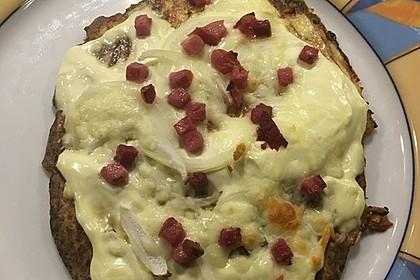 Low-Carb Flammkuchen vegetarisch 20