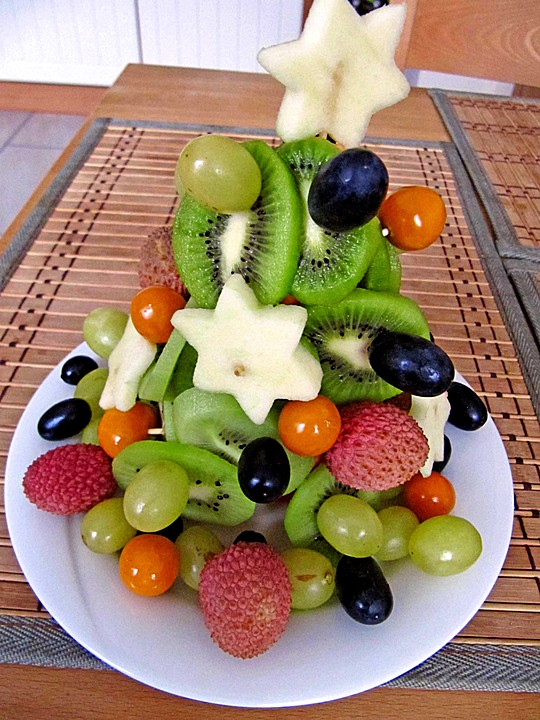 Obst Weihnachtsbaum Von Moosmutzel311 Chefkochde