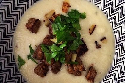 Sellerie-Parmesan-Suppe 1