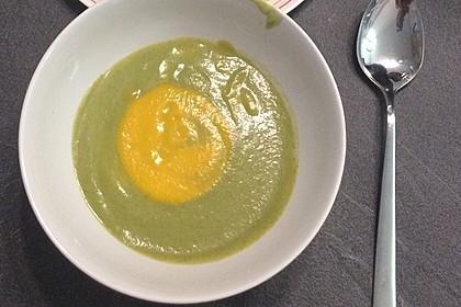 Brokkoli-Möhren-Suppe mit Ingwer 3