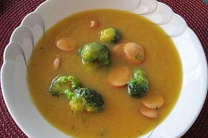 Brokkoli-Möhren-Suppe mit Ingwer 2