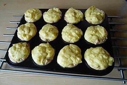 Herzhafte Speck und Käse Muffins 15
