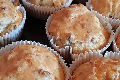 Herzhafte Speck und Käse Muffins 12