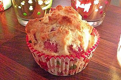 Herzhafte Speck und Käse Muffins 2