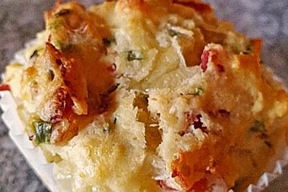 Herzhafte Speck und Käse Muffins 1