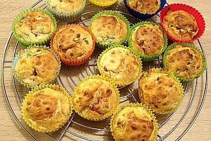 Herzhafte Speck und Käse Muffins 6