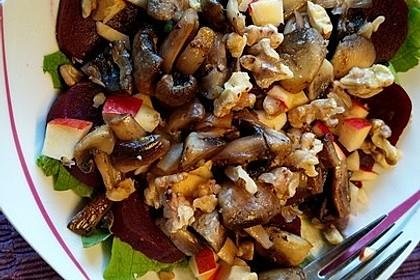 Wintersalat mit Honig-Senf-Dressing 4