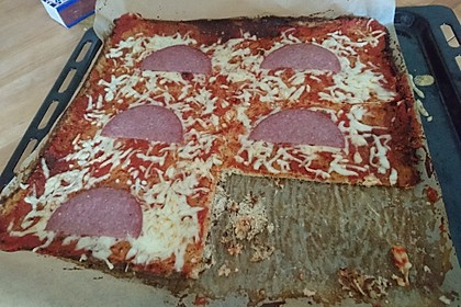 Pizzaboden Low carb 2