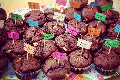 Fluffige vegane Muffins 25
