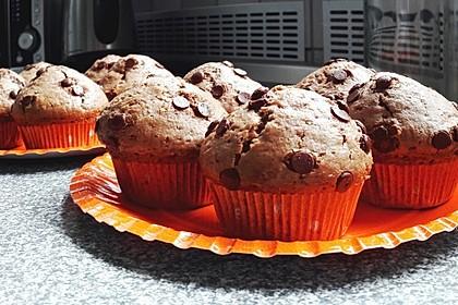 Fluffige vegane Muffins 10