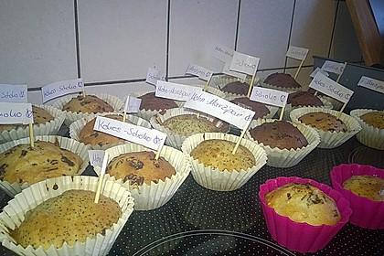 Fluffige vegane Muffins 34