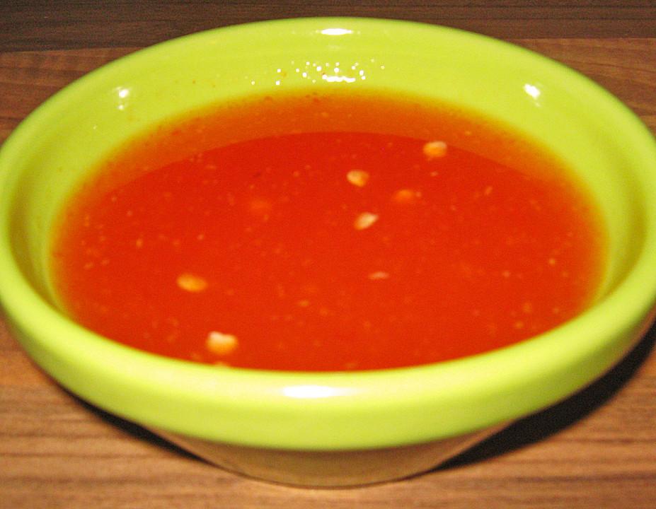 Süßsauer Soße Zu Frühlingsrollen Von Puschelpurzel Chefkoch