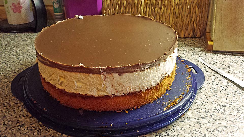 Schoko Bananen Sahne Torte Von Kuchenfee2310 Chefkoch De
