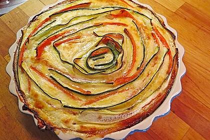 Zucchini-Karotten-Quiche 3
