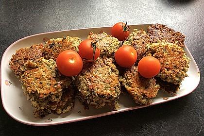 Veggie-Frikadellen mit Haferflocken (Bild)