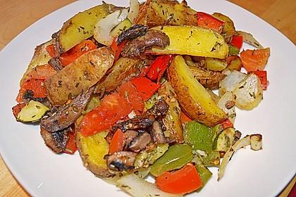 Kartoffel-Backofengemüse 1