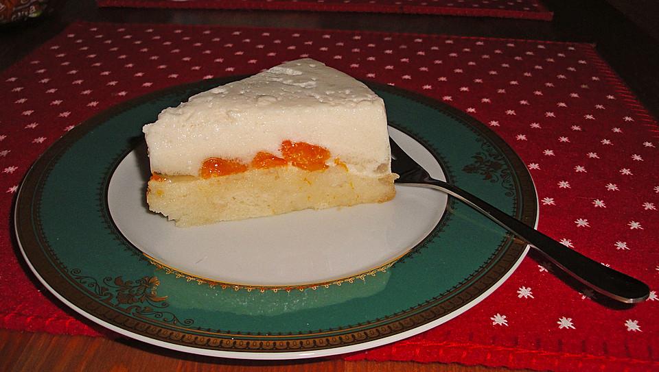 Vegane Mini Prosecco Mousse Torte Mit Mandarinen Von Beaskuche