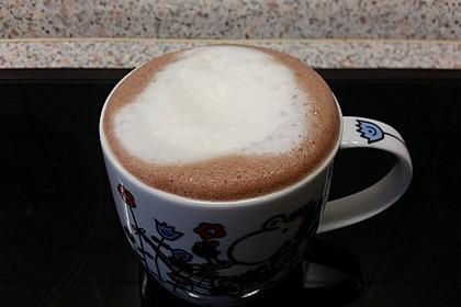 Kakao mit Schaum 2