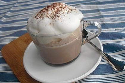 Kakao mit Schaum