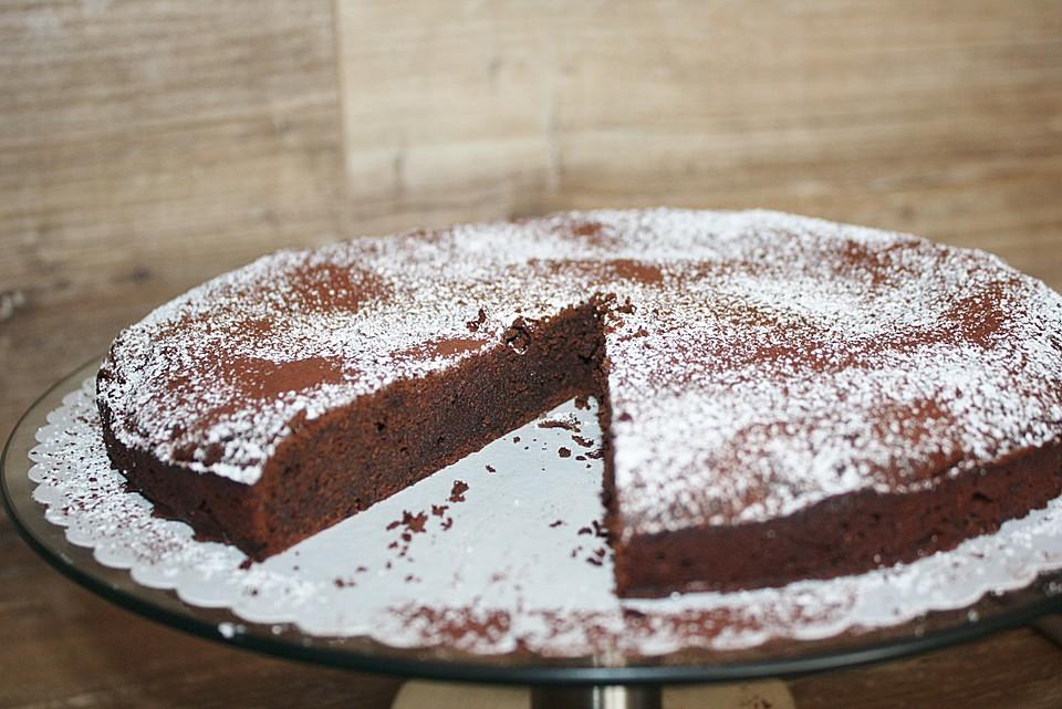Französische Schokoladentarte Von Vulcano Chefkoch