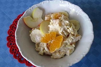 Cremiges Wintermüsli mit Mandarinen und Zimt