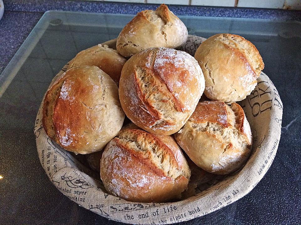 Brötchen Perfekt Wie Vom Bäcker Von Powerlol Chefkochde
