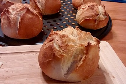Brötchen, perfekt wie vom Bäcker (Bild)