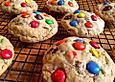 Amerikanische M&M's Toffee Cookies