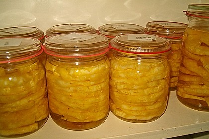 Ananas einwecken 3