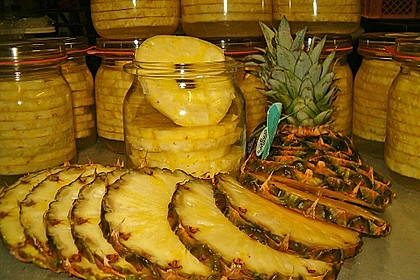 Ananas einwecken