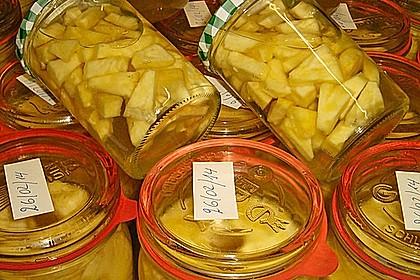 Ananas einwecken 8