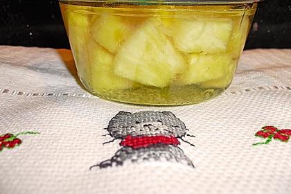 Ananas einwecken 7