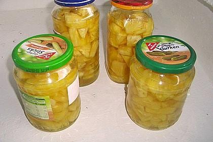 Ananas einwecken 10