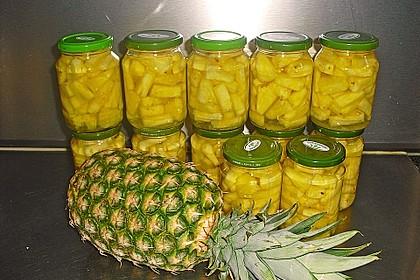 Ananas einwecken 2