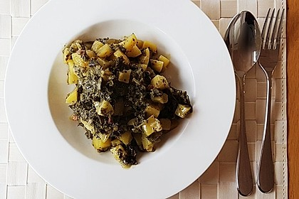 Grünkohl vegetarisch oder vegan 9