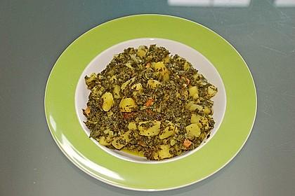 Grünkohl vegetarisch oder vegan 8
