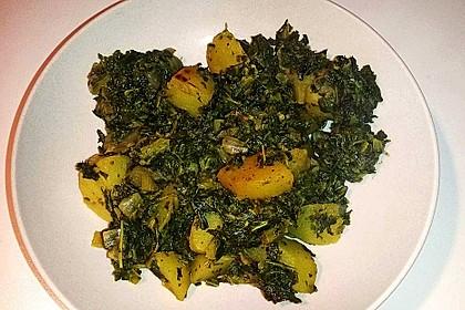 Grünkohl vegetarisch oder vegan 11