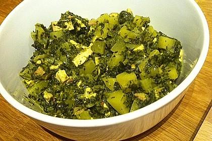 Grünkohl vegetarisch oder vegan 10