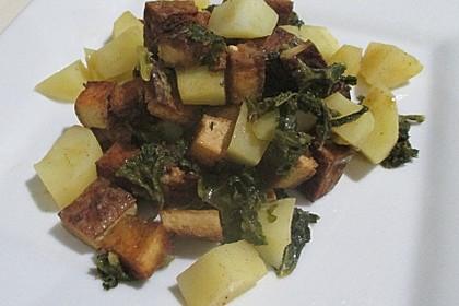 Grünkohl vegetarisch oder vegan 6