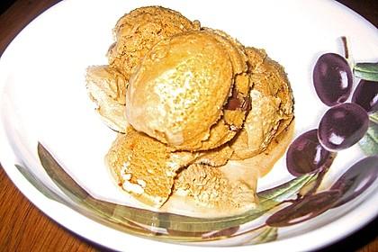 Gesalzenes Karamell-Eis