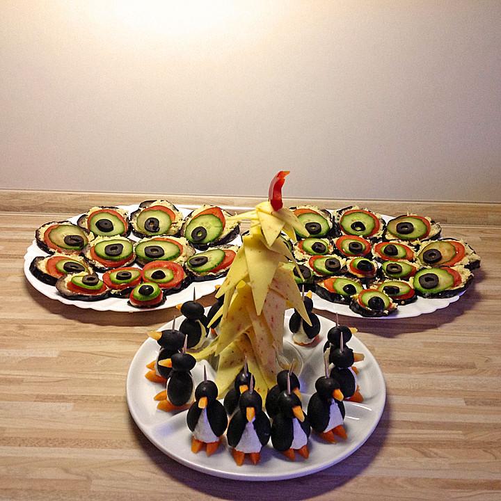 Oliven Ziegenkäse Pinguine Von Midnightcooking Chefkoch