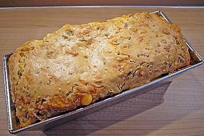 Cake aux olives et jambon 4