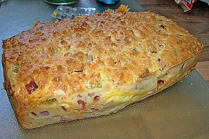 Cake aux olives et jambon 1