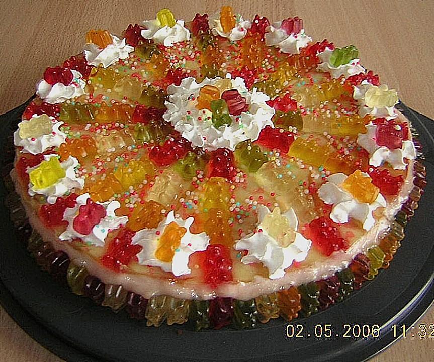 Gummibären Torte Von Agentin Chefkoch