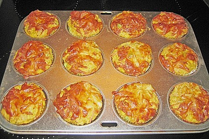 Gemüse - Muffins 9
