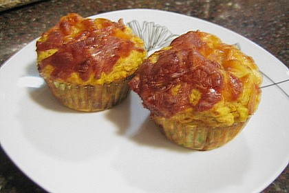 Gemüse - Muffins 12
