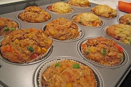 Gemüse - Muffins 2