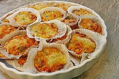 Gemüse - Muffins 3