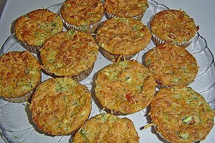 Gemüse - Muffins 1