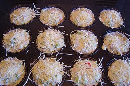 Gemüse - Muffins 11